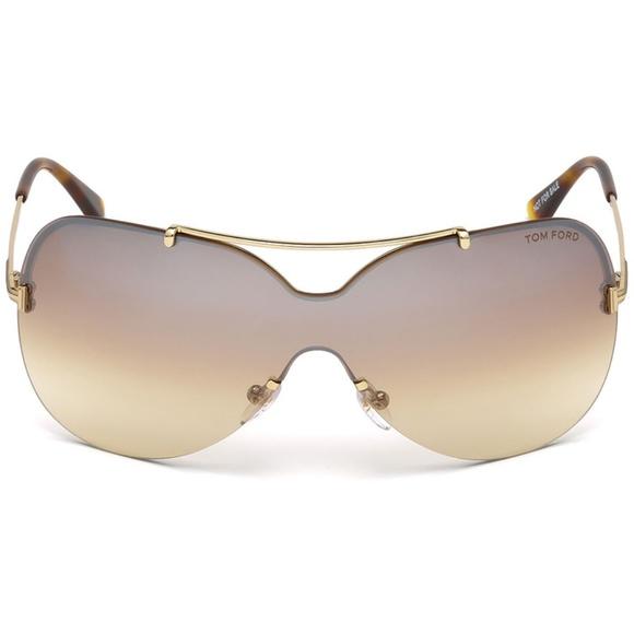 f6f93d894a Tom Ford Ondria Sunglasses Gold w Brown Lens